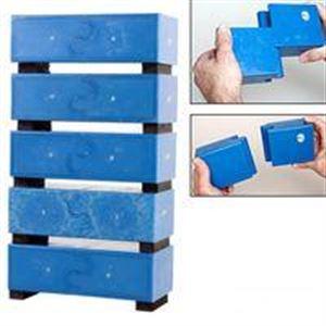 Picture of Blue Plastic ReBreakable Brick