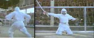Picture of White Ninja Uniforms