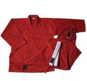 Picture of Gladiator 7.5 oz. Medium Weight Karate Uniform - Red