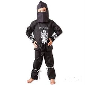 Picture of Ninja Costume Black Uniform