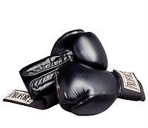 Picture of Gladiator Leatherette Wrist Wrap Boxing Gloves