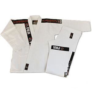 Picture of Fuji BJJ Kassen Premium Jiu Jitsu Uniform -white