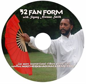 Picture of Tai Chi 32 Fan Form DVD