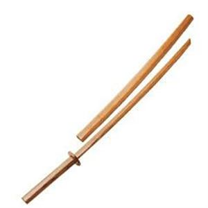 Picture of Bokken With Wood Scabbard
