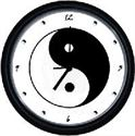 Picture of Yin & Yang Wall Clock
