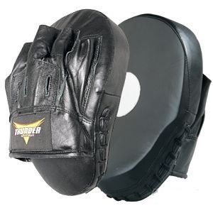 Picture of Thunder Curved Leather Focus Mitt