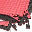 Picture of ProForce Deluxe Reversible Floor Mat - Red/Black