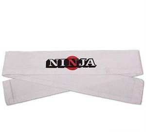 Picture of Ninja Head band -White w/Sun