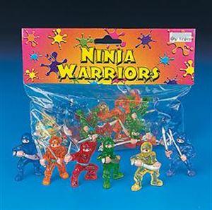 Picture of Ninja Vinyl Martial Arts Figures Set