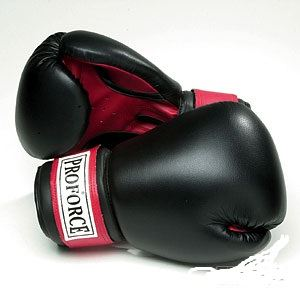 Picture of Leatherette Boxing Gloves w/Red Palm