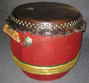 Picture of Chinese Lion Dance Deluxe Drum