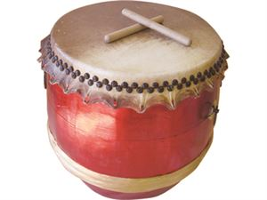 Picture of Red Southern Lion Dance Drum