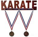 Picture of Wooden Medal Display - Karate