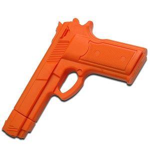 Picture of Deluxe Hard Rubber Training Gun – Orange
