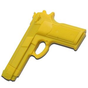 Picture of Deluxe Hard Rubber Training Gun – Yellow