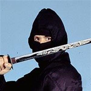 Picture of Ninja Uniform Hood Mask