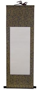 Picture of Chinese Blank Wall Scroll