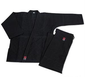Impact Double Weave Judo Uniform - Black