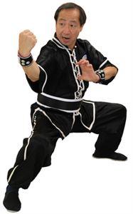 Picture of Jow Ga Kung fu Uniform w/ Single Trim