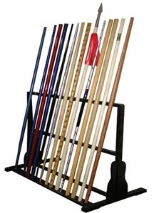 Picture of Black Bo Staff Display Stand