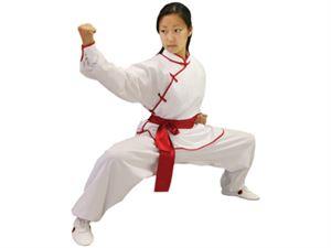 Female Kung Fu Uniform - Raw Silk