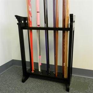 Picture of 10 Bo Staff Display Floor Rack