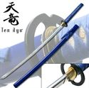 Picture of Hand Forged Samurai Warrior Sword -Blue