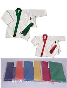 Picture of Tang Soo Do Uniform Jacket Trim Kit