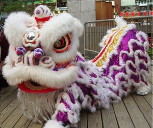 Picture of Chinese Lion Head- Purple