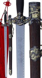 Picture of Two Tone Dragon Face Straight Sword