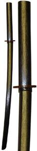 Picture of Black Oak Bokken (Sword)